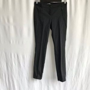Cambio Black Lila Cropped Stretchy Skinny pant 4